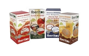 Packs patés Iberitos 25gr. x 5 unidades